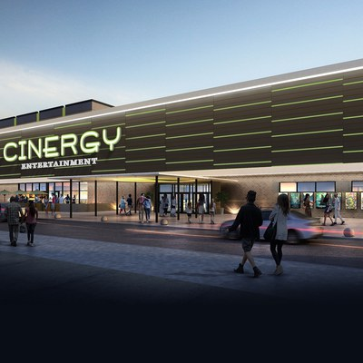 Cinergy Tulsa, Oklahoma's first all dine-in cinema.