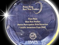 HyperBowling Wins the Best New Product Brass Ring Award